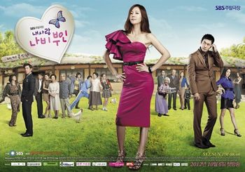 Asian Korean Drama My Love, Butterfly Lady / My Love, Wife Na Bi / 내 사랑 나비부인