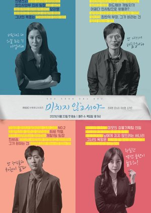 Asian Korean Drama 미치지 않고서야 / On The Verge Of Insanity /  No One But a Madman