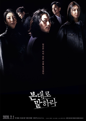Asian Korean Drama 본대로 말하라 / Tell Me What You Saw / Say What You Saw