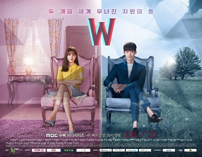 Asian Korean Drama W – Two Worlds / 더블유 / W