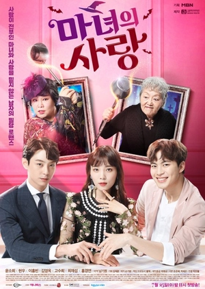 Asian Korean Drama  마녀의 사랑 / Witch's Love